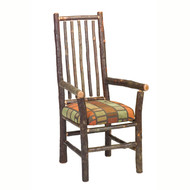 FL86060 Hickory High-Back Spoke-Back Arm Chair