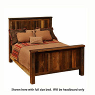 FLB10100 Barnwood Traditional Bed