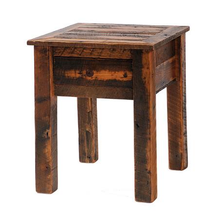 FLB11021 Barnwood One Drawer Nightstand