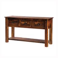 FLB14140 Barnwood Console Table