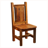 FLB16110-AO Artisan Barnwood Dining Side Chair