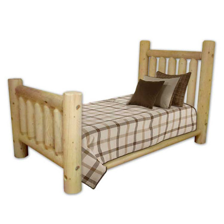 GT1006 Child's Pine Log Bed