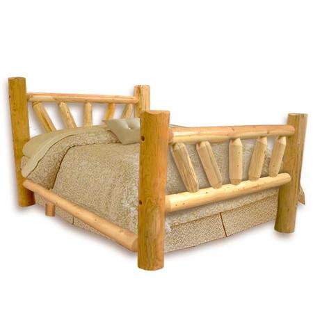 GT1007 GoodTimber Large Sunburst Log Bed