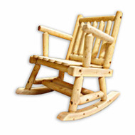 GT2004 Pine Low Back Rocking Chair