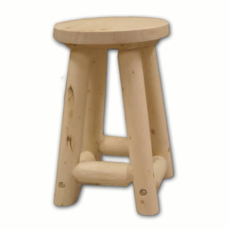 GT5215 GoodTimber Log Barstool