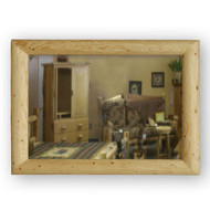 GT6001M Goodtimber Log Mirror Frame with Mirror
