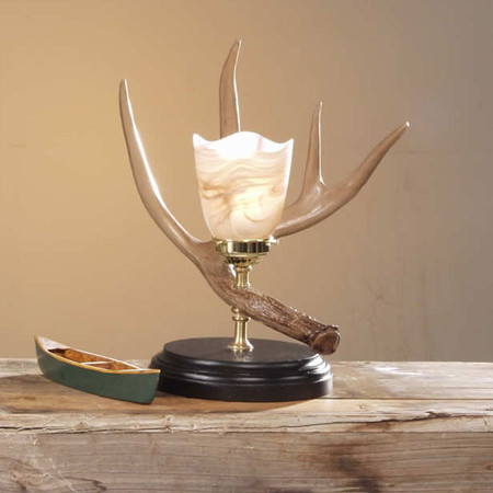 HP66580 Whitetail Antler Night Light