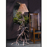 HP66591 Elk Antler Floor Lamp