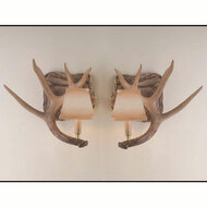 HP6594 Whitetail Antler Wall Sconce Set