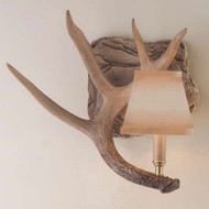 HP66595 Whitetail Antler Left Wall Sconce