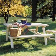 RN21 Log Picnic Table