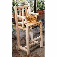 RN3B Cedar Bar Stool with Back