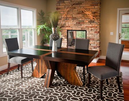 UH34400DT Cross-Leg Dining Table