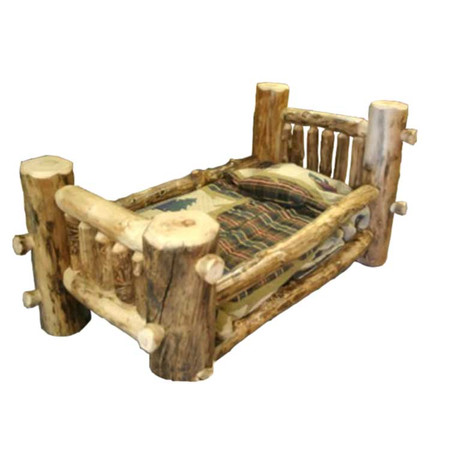 1201 Child's Aspen Log Bed