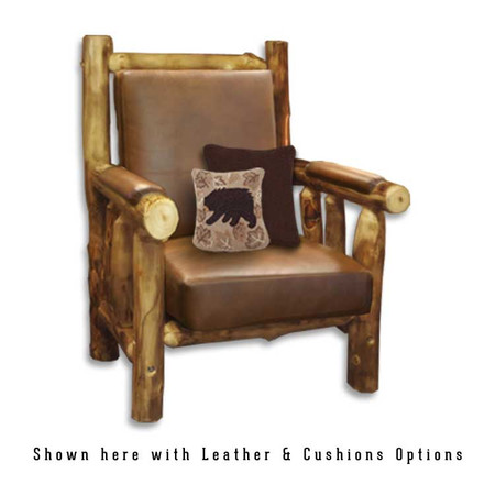 2207 Rustic Chair with Cushions
