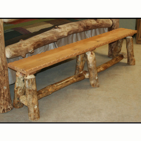2218 Rustic Bed Bench