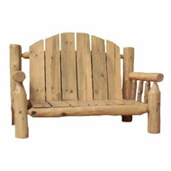 2233 Indoor/Outdoor Rustic Lumber Seat Couch
