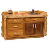 2250 Rustic Bathroom Vanity