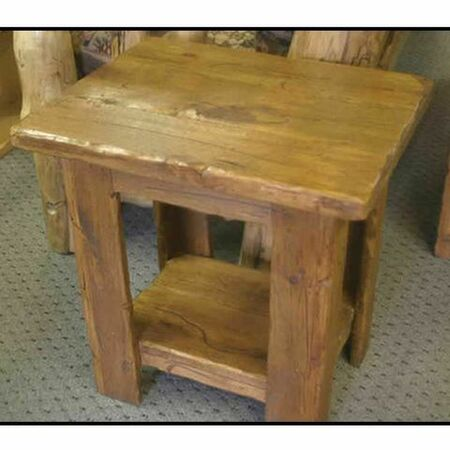3211 Distressed Alder End Table/Nightstand