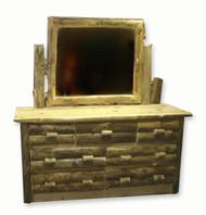 4205 Rustic 7 Drawer Dresser