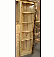 4219 Rustic Corner Bookcase