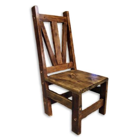 5523 Barn Wood Dining Chair