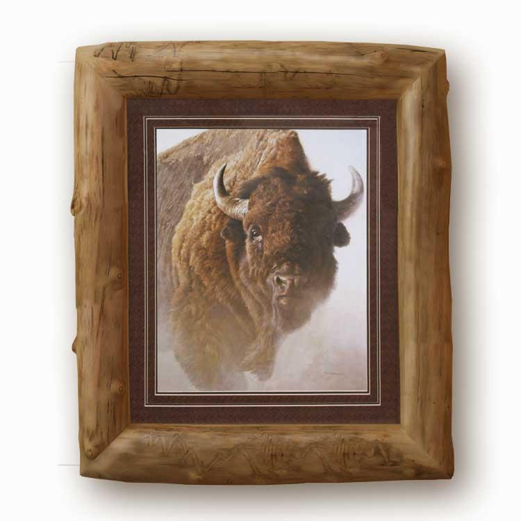 Rustic Furniture Aspen Log Picture Frame