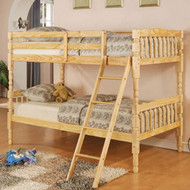 A0514 Natural Bunk Bed