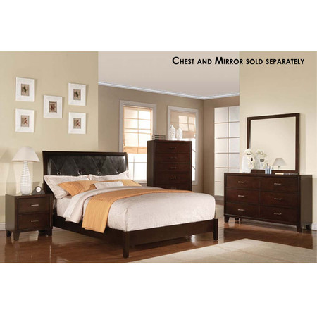 A19534 Tyler Finished Wood Bed Set