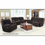 A50475 Ahearn Chocolate Champion Motion Sofa Set