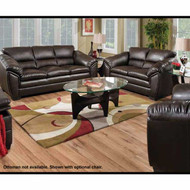 A50600 Kenya Godiva Bonded Leather Sofa Set