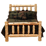 FL10100 Traditional Log Bed - Complete Bed