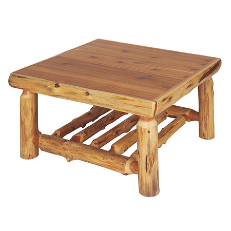 FL14060 Open Log Coffee Table - Square