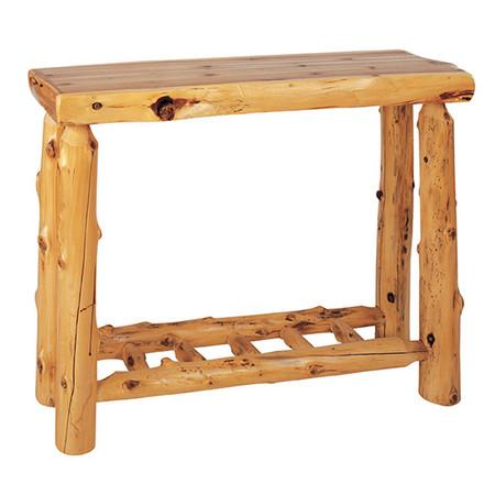 FL14130 Cedar Sofa Table