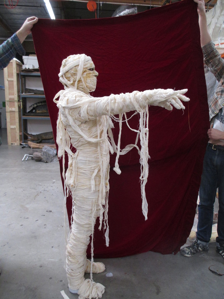 Movie Ready Realistic Mummy Suit By Animal Makers