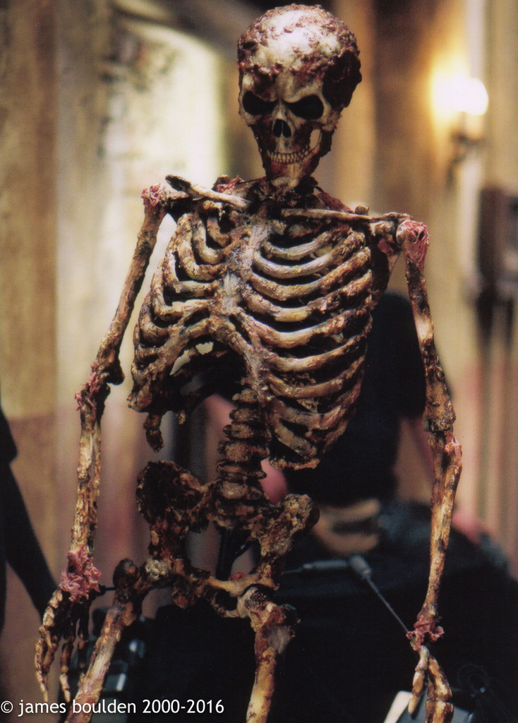 On Screen Used Human Skeleton Prop From Scary Movie 2