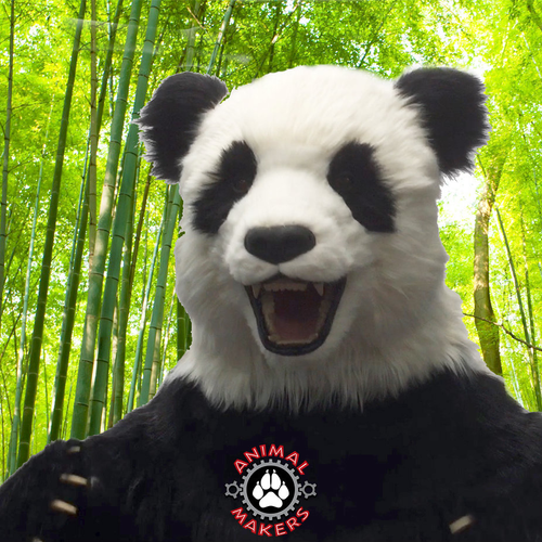 Realistic Full Scale Giant Panda Costume With Animated