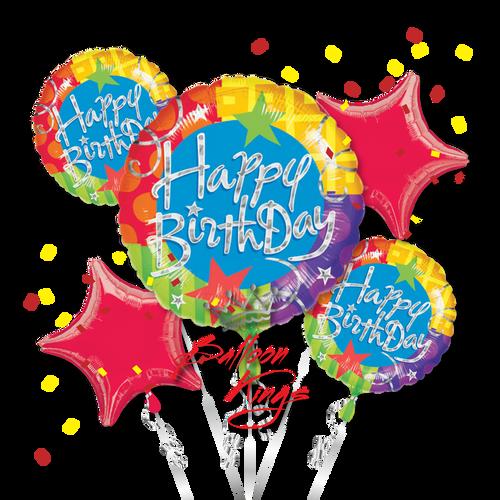Happy Birthday Blitz Bouquet