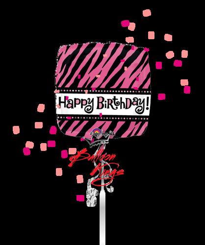 Happy Birthday Zebra