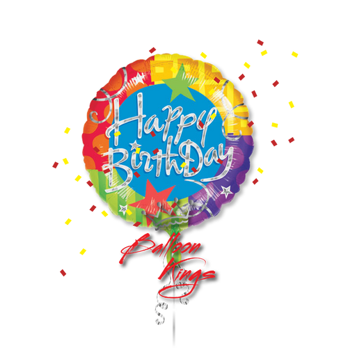 Large Happy Birthday Blitz