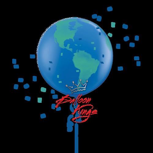 30in Globe Earth