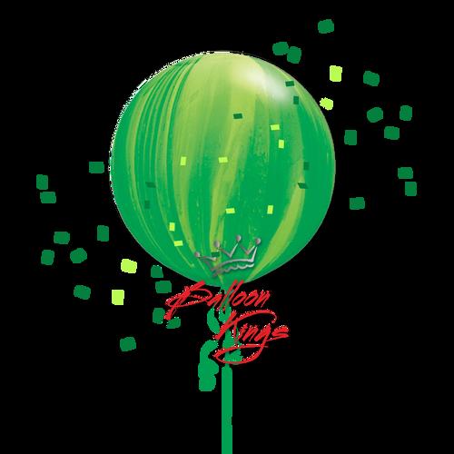 30in Superagate Green