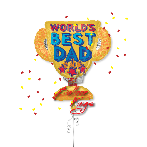 Happy Fathers Day Trophy