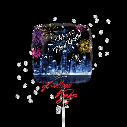 Happy New Year Skyline