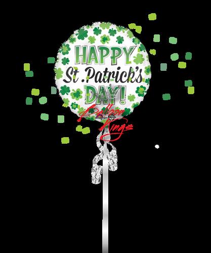 Happy St Patricks Day Shamrocks