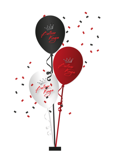 Centerpiece of 3 Balloons