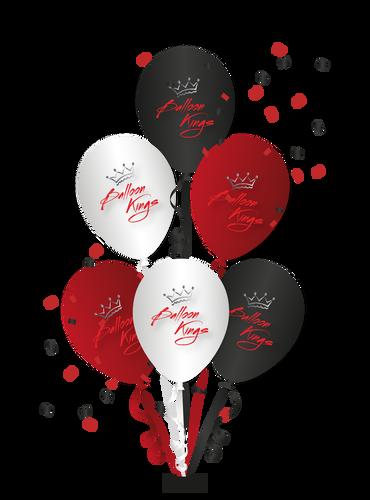 Centerpiece of 6 Balloons