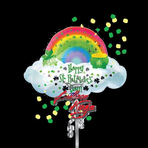 St Patricks Day Rainbow (D)