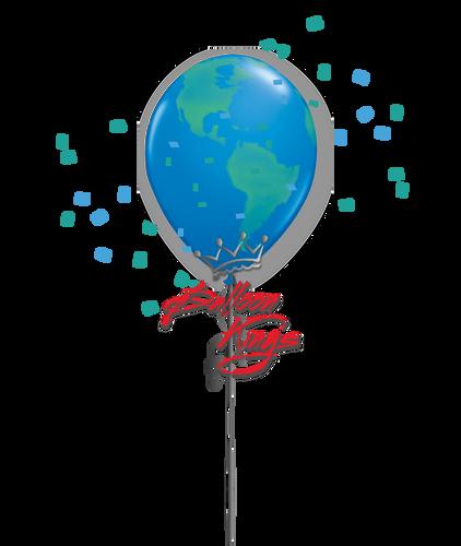 11in Latex Global Earth