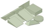General Positioning Sponge Kit B - Stealth Foam